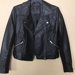 🔥SALE‼️ROMEO AND JULIET FAUX LEATHERJACKET